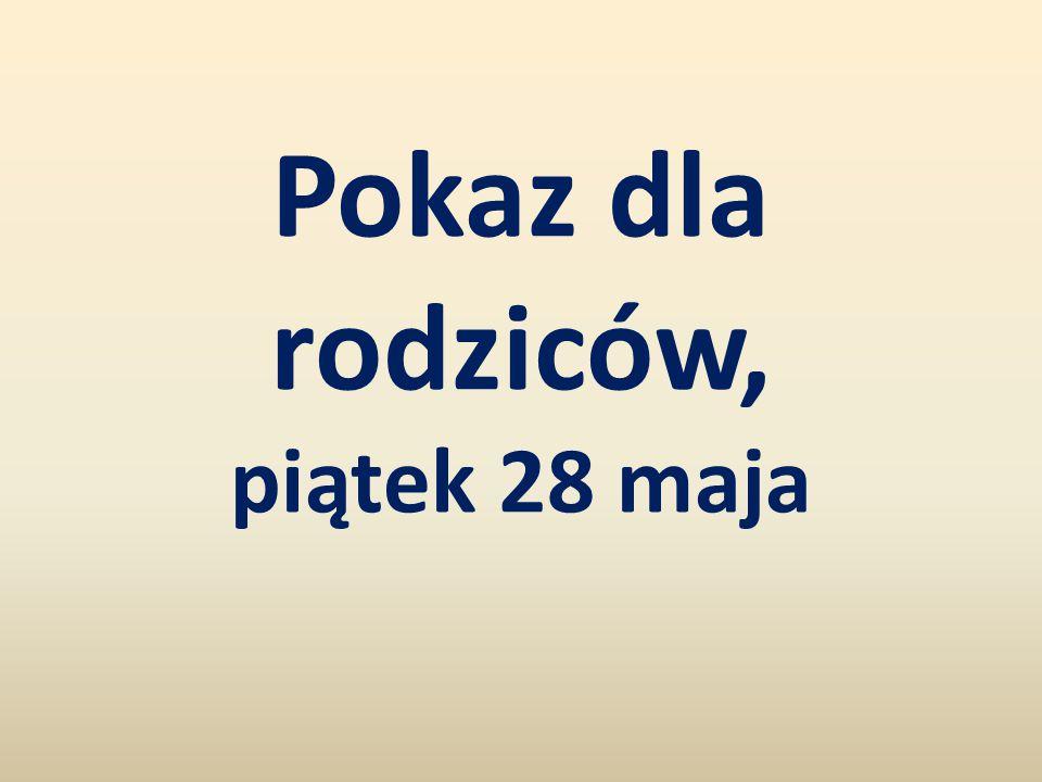28 maja 2010 roku o godzinie 18:00 rozpoczęło się przedstawienie przygotowane dla rodziców i nauczycieli przez polskich i francuskich uczniów.