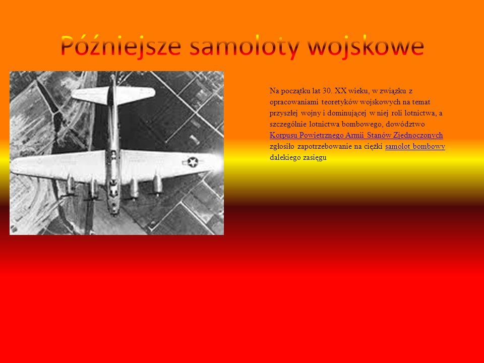 Na początku lat 30. XX wieku, w związku z opracowaniami teoretyków wojskowych na temat przyszłej wojny i dominującej w niej roli lotnictwa, a szczegól