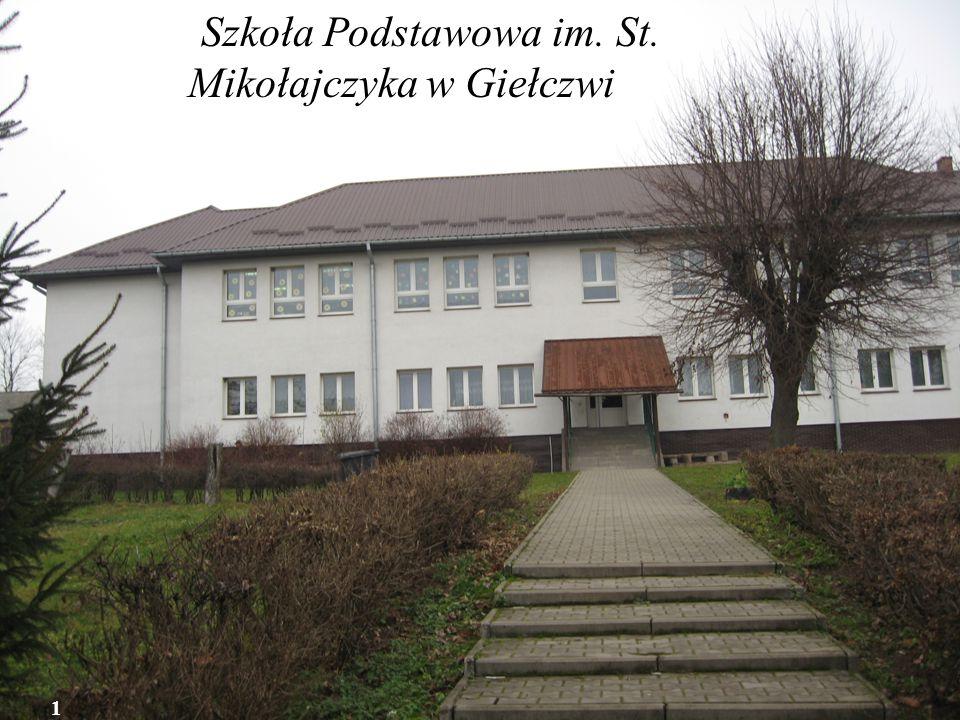 Szkoła Podstawowa im. St. Mikołajczyka w Giełczwia w 1