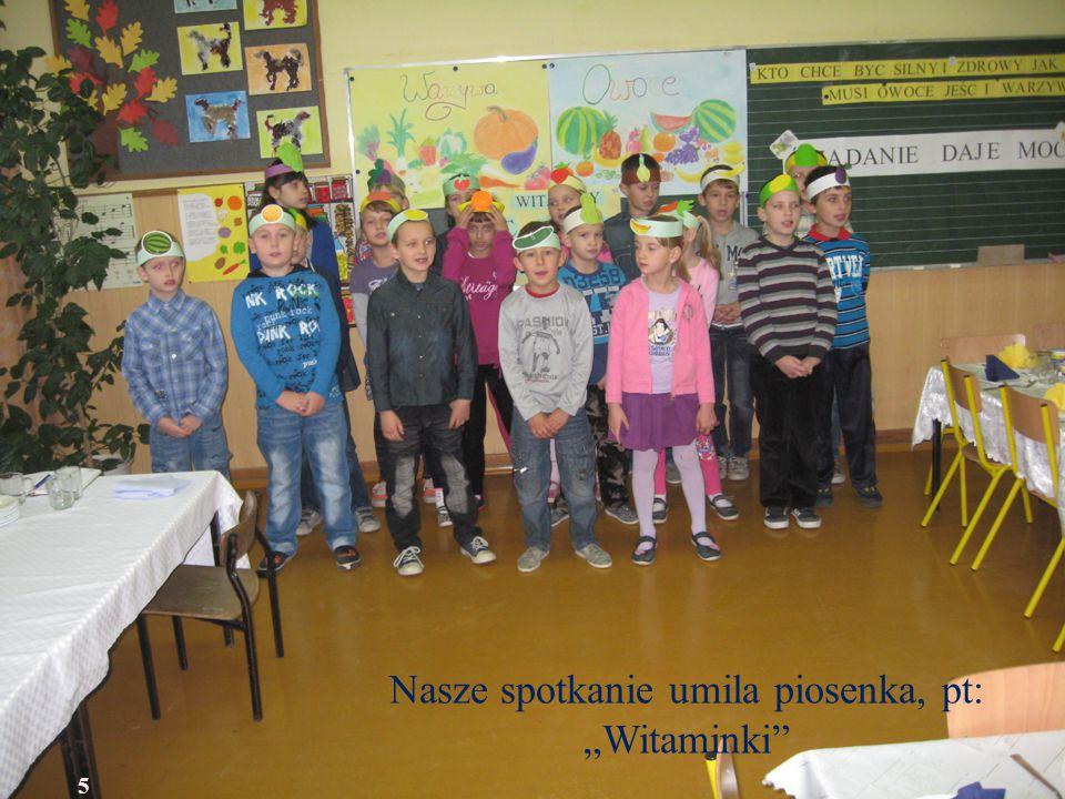 """Nasze spotkanie umila piosenka, pt: """"Witaminki 5"""