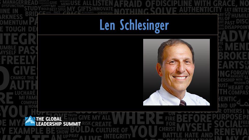 Len Schlesinger