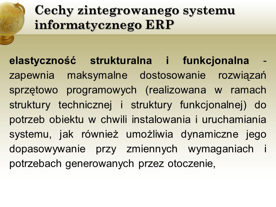 Porównanie wybranych systemów ERP