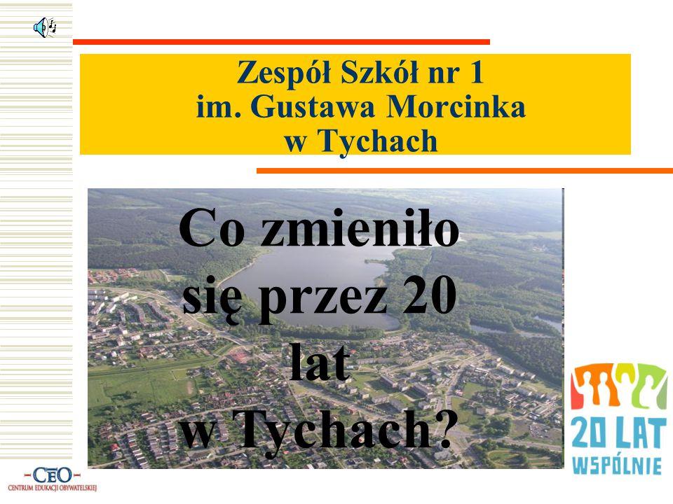 Zespół Szkół nr 1 im. Gustawa Morcinka w Tychach Co zmieniło się przez 20 lat w Tychach?
