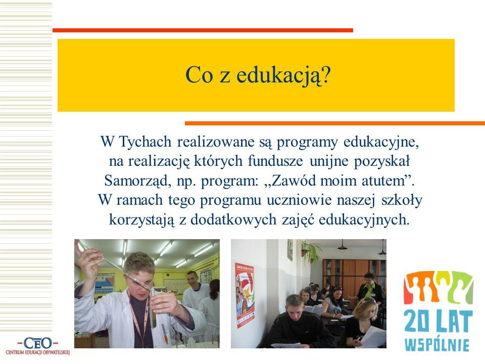 """Co jeszcze z edukacją cz.2: Uczniowie szkół tyskich w ramach projektu """"Szkoła Szans wyjeżdżali na różnego typu wycieczki."""