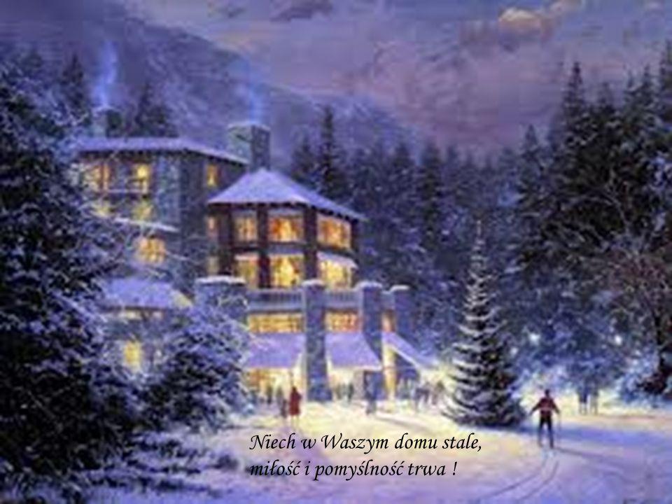 Niech radość i pokój Świąt Bożego Narodzenia towarzyszy wszystkim przez cały Nowy Rok.
