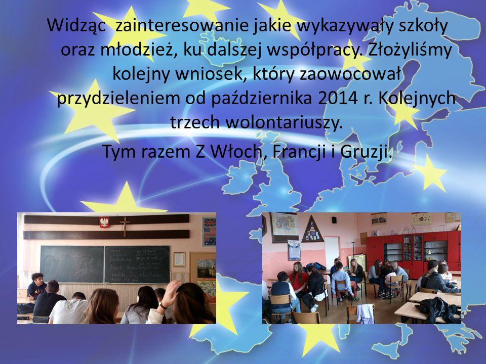 Widząc zainteresowanie jakie wykazywały szkoły oraz młodzież, ku dalszej współpracy.