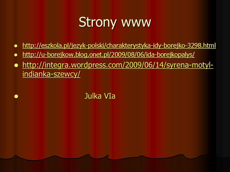 Strony www http://eszkola.pl/jezyk-polski/charakterystyka-idy-borejko-3298.html http://eszkola.pl/jezyk-polski/charakterystyka-idy-borejko-3298.html h