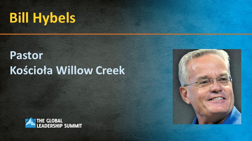 Bill Hybels Pastor Kościoła Willow Creek