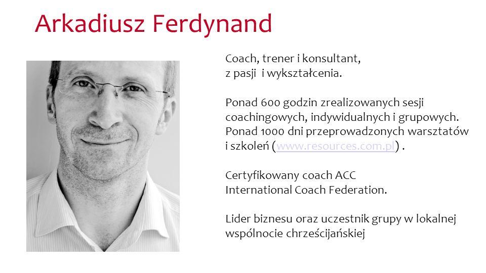 Coach, trener i konsultant, z pasji i wykształcenia. Ponad 600 godzin zrealizowanych sesji coachingowych, indywidualnych i grupowych. Ponad 1000 dni p