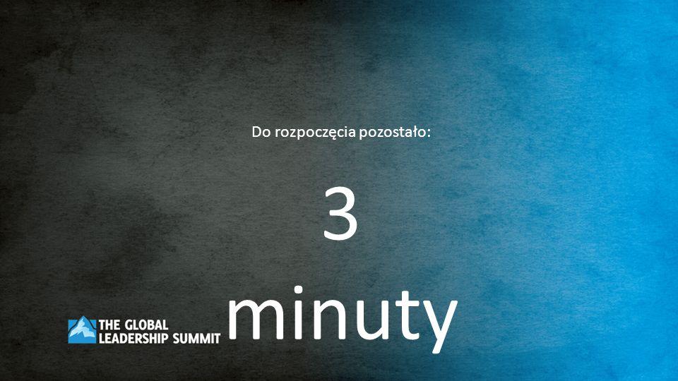 Do rozpoczęcia pozostało: 2 minuty