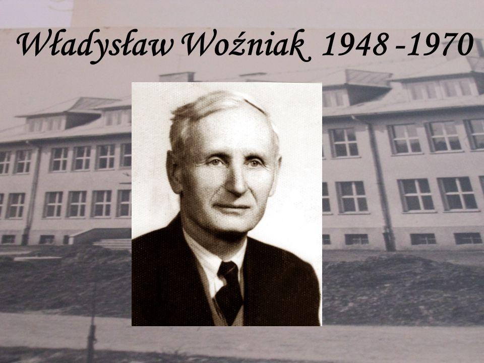Władysław Woźniak 1948 -1970