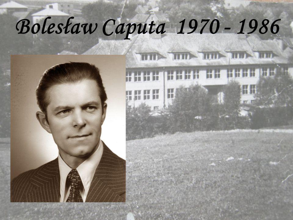 Bolesław Caputa 1970 - 1986