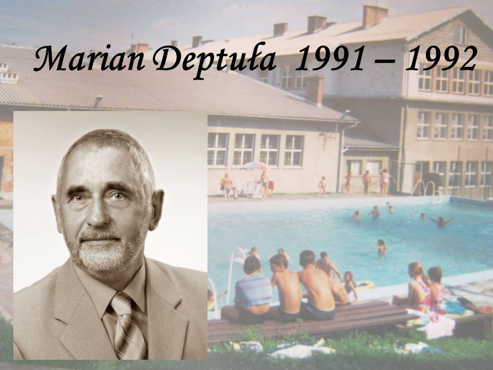 Marian Deptuła 1991 – 1992