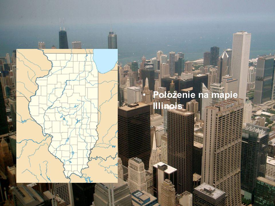 Położenie na mapie Illinois
