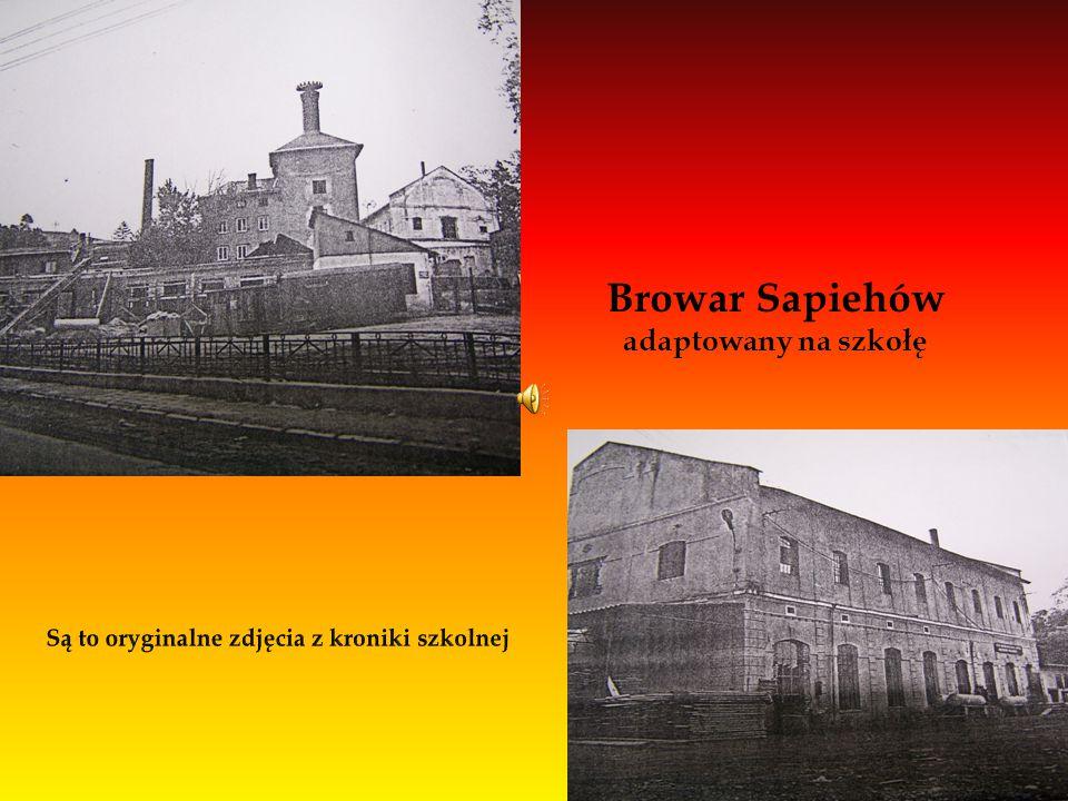 Browar Sapiehów adaptowany na szkołę