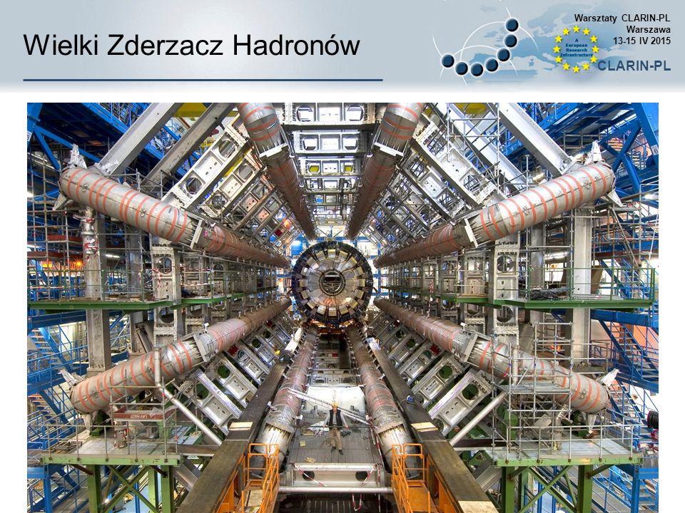 Wielki Zderzacz Hadronów Warsztaty CLARIN-PL Warszawa 13-15 IV 2015 CLARIN-PL