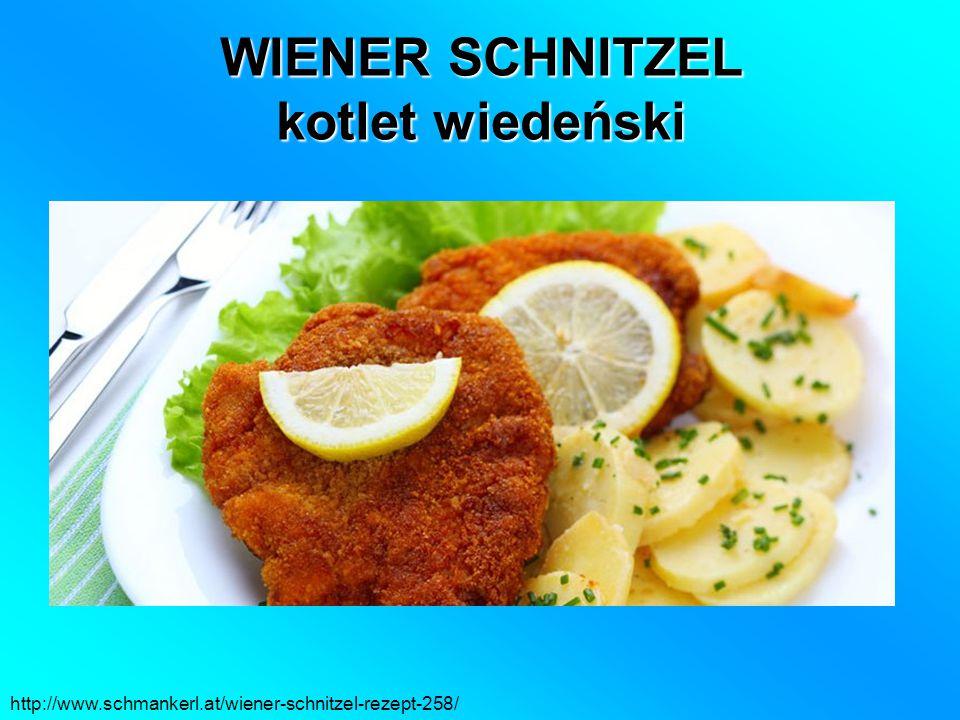 WIENER SCHNITZEL kotlet wiedeński http://www.schmankerl.at/wiener-schnitzel-rezept-258/