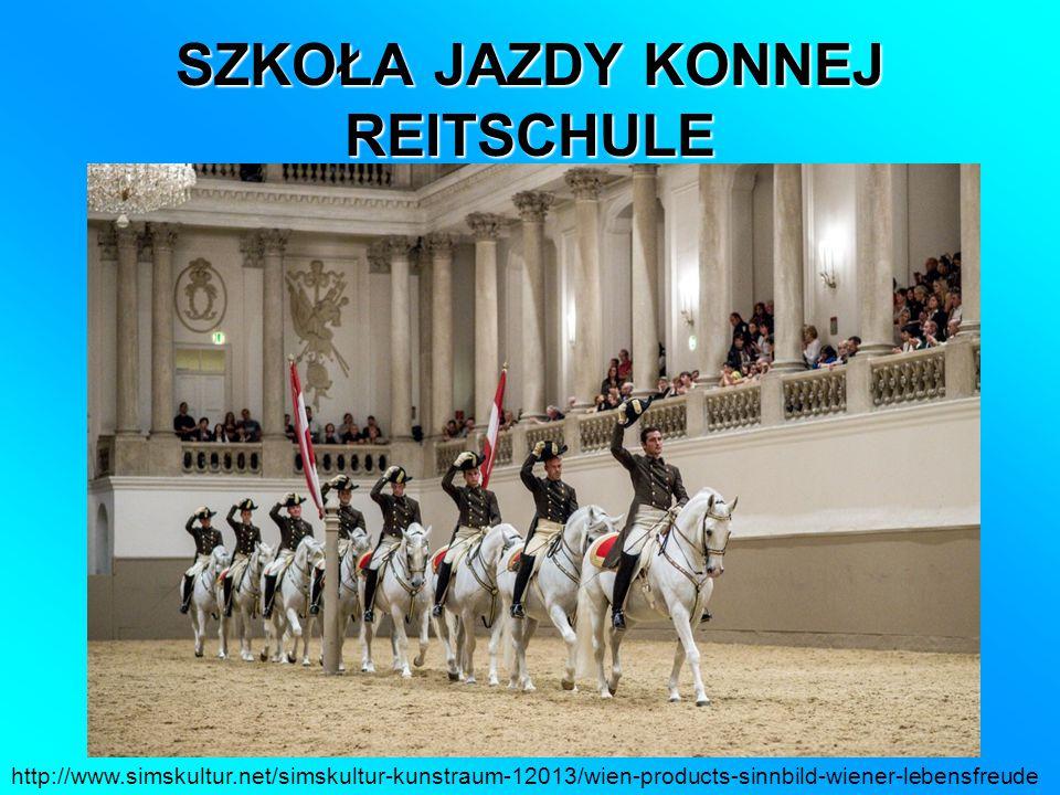 SZKOŁA JAZDY KONNEJ REITSCHULE http://www.simskultur.net/simskultur-kunstraum-12013/wien-products-sinnbild-wiener-lebensfreude