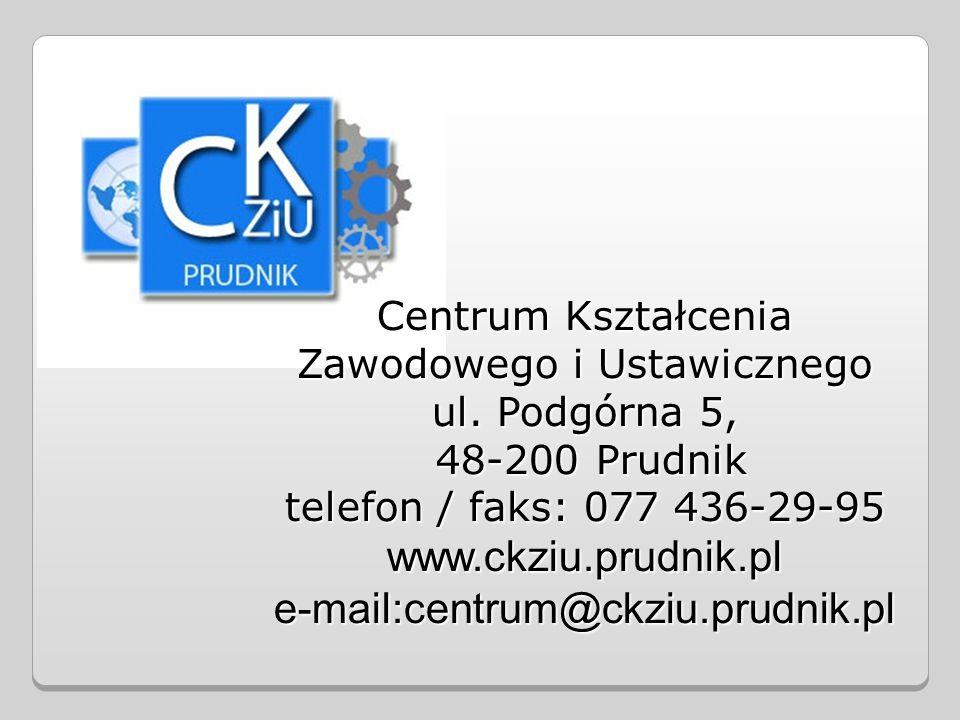 Centrum Kształcenia Zawodowego i Ustawicznego ul.