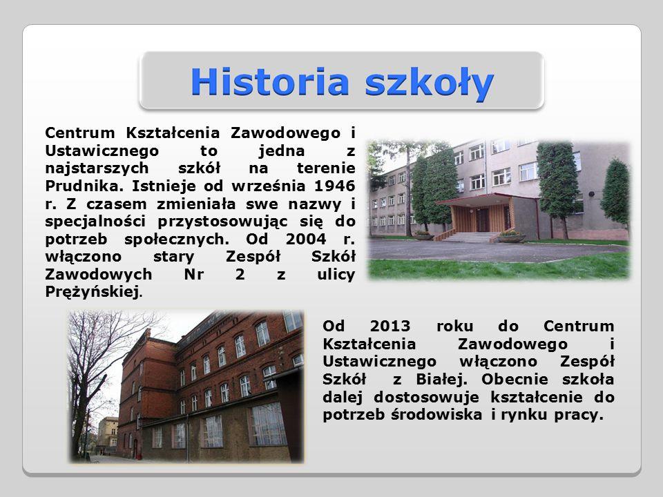 Centrum Kształcenia Zawodowego i Ustawicznego to jedna z najstarszych szkół na terenie Prudnika.