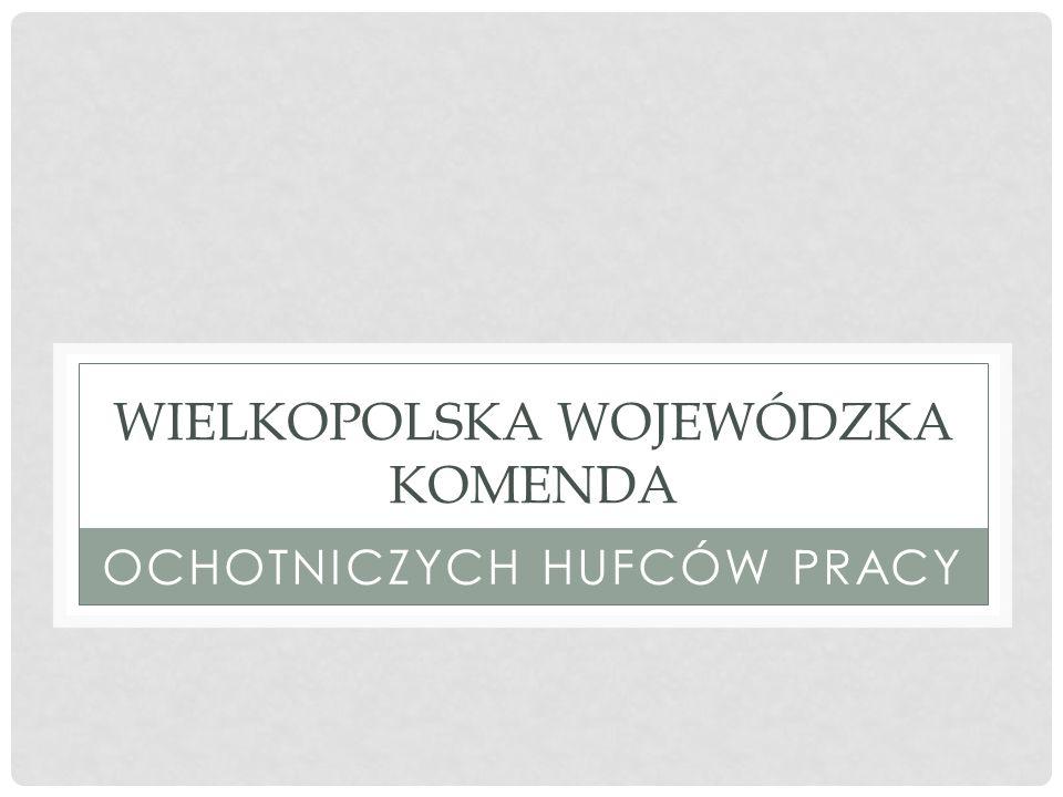 PARTNERSTWO POLSKO-NIEMIECKIE WIELKOPOLSKA WOJEWÓDZKA KOMENDA OCHOTNICZYCH HUFCÓW PRACY WIELKOPOLSKA WOJEWÓDZKA KOMENDA OCHOTNICZYCH HUFCÓW PRACY JUGENDWERKSTATT FELSBERG e.V