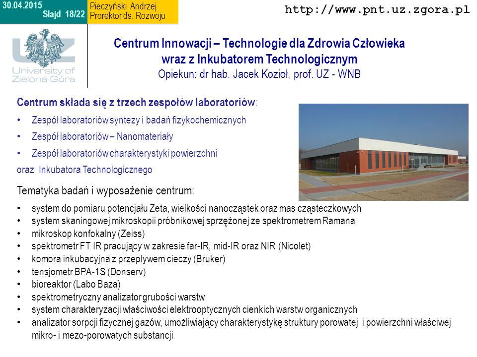 Centrum Technologii Informatycznych Opiekun: dr inż.