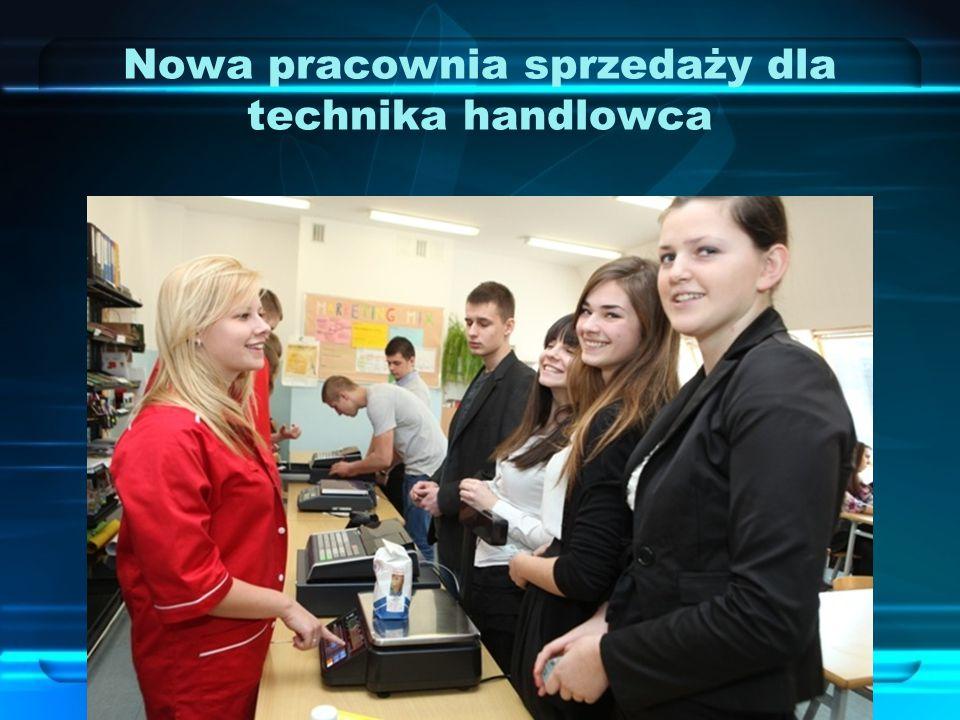 Nowa pracownia sprzedaży dla technika handlowca