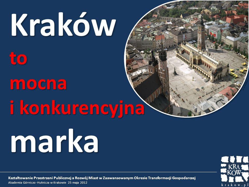 Kształtowanie Przestrzeni Publicznej a Rozwój Miast w Zaawansowanym Okresie Transformacji Gospodarczej Akademia Górniczo -Hutnicza w Krakowie 25 maja