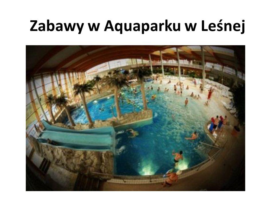 Zabawy w Aquaparku w Leśnej