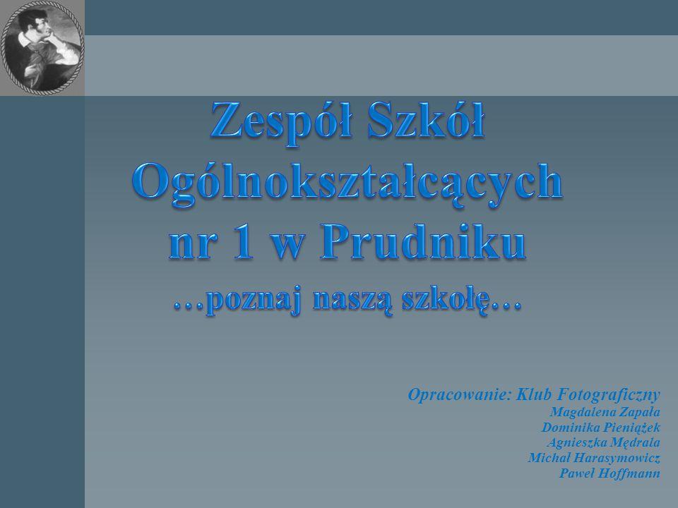 Opracowanie: Klub Fotograficzny Magdalena Zapała Dominika Pieniążek Agnieszka Mędrala Michał Harasymowicz Paweł Hoffmann