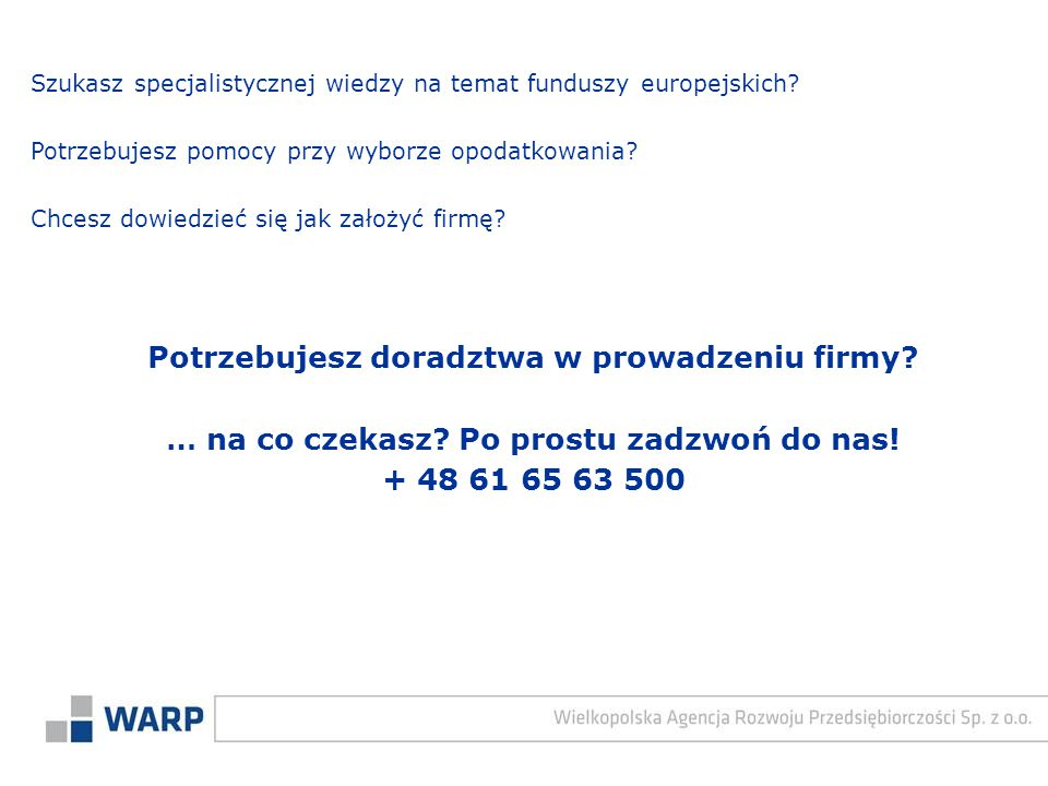 Szukasz specjalistycznej wiedzy na temat funduszy europejskich.