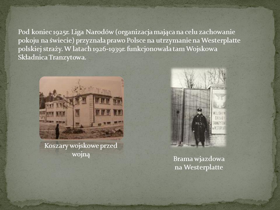 Dnia 1 września 1939r., o godzinie 4.45 niemiecki pancernik Schleswig- Holstein rozpoczął bombardowanie Westerplatte, co oznaczało początek wojny.