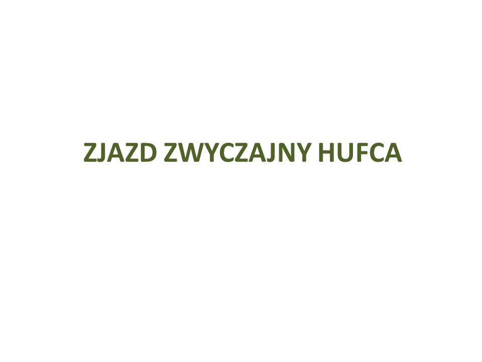 Sprawozdanie Komendanta i Komendy Hufca Sprawozdanie na Zjazd Zwykły Hufca ZHP obejmuje cały okres kadencji od zjazdu zwykłego do zjazdu zwykłego (4 lata).