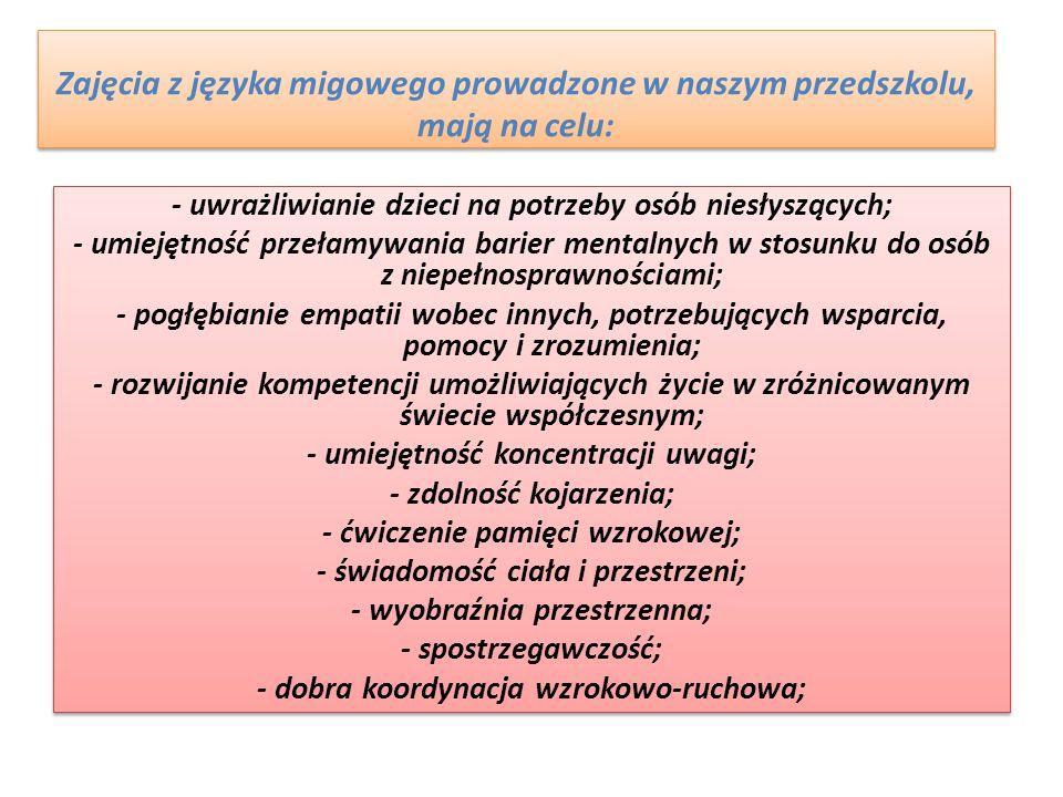 """""""Miganie"""" w P.P nr 29 w Szczecinie"""