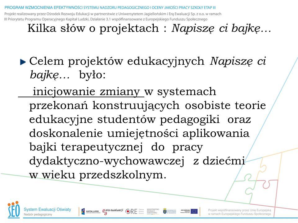 Projekt opracowany był zgodnie z klasycznymi zasadami konstrukcji metody projektów opisywanymi m.in.