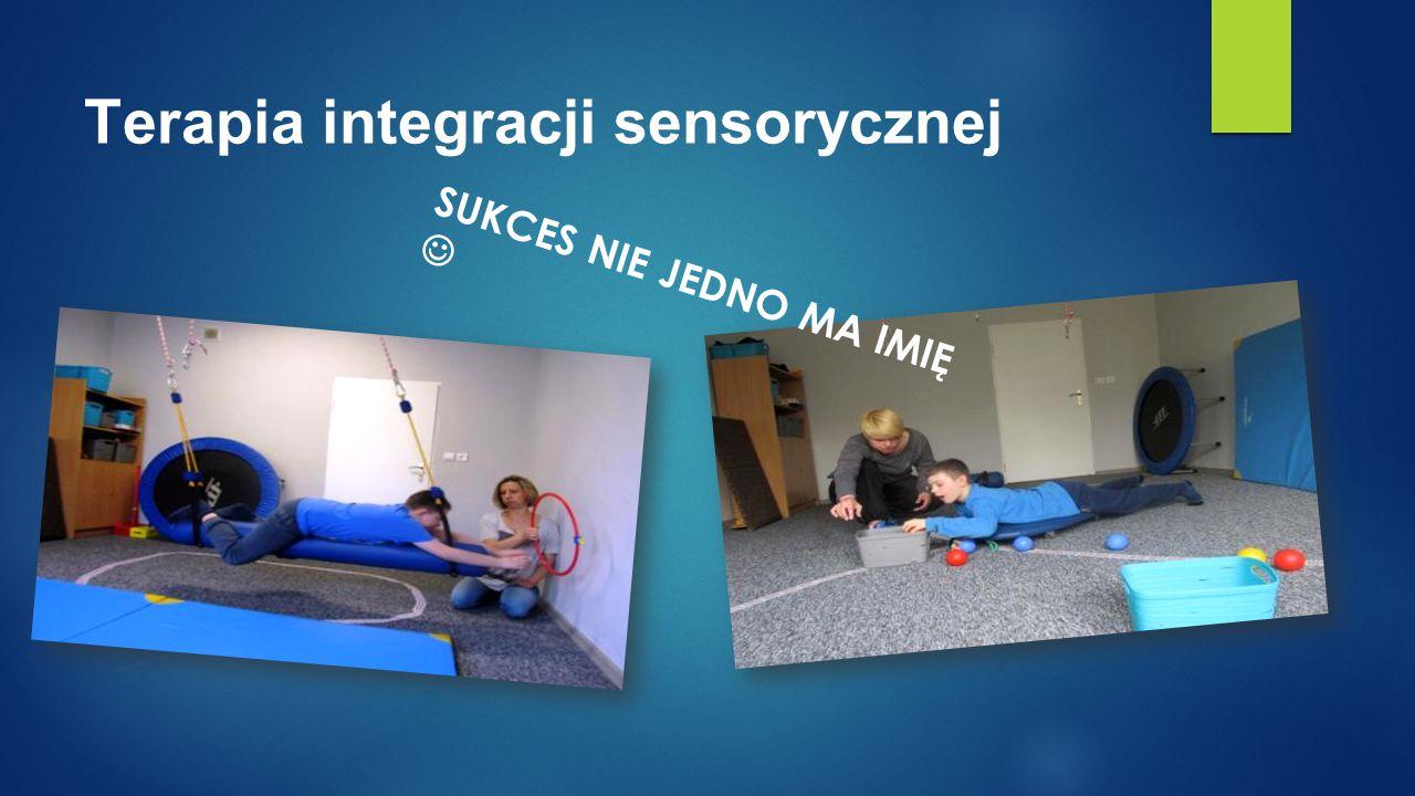 Terapia integracji sensorycznej SUKCES NIE JEDNO MA IMIĘ