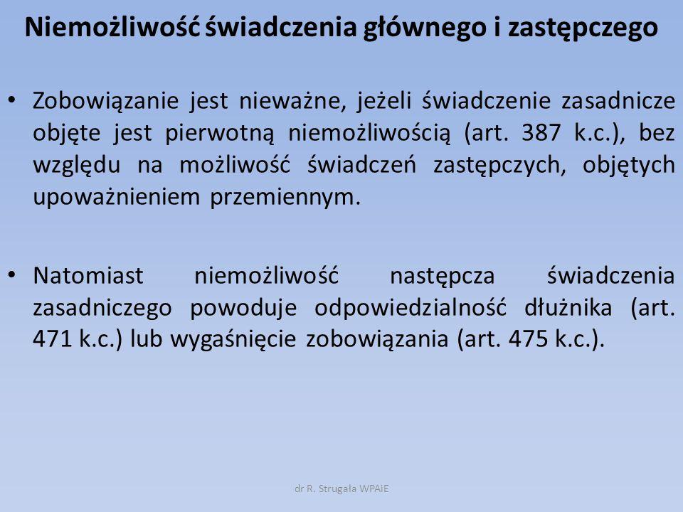 Odsetki kapitałowe cd.
