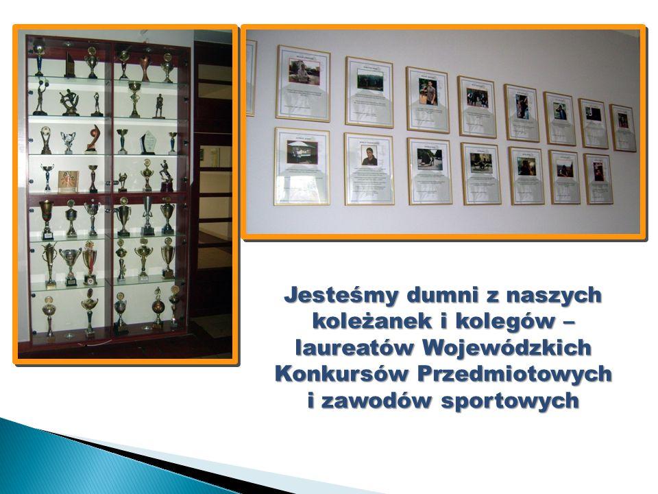 Jesteśmy dumni z naszych koleżanek i kolegów – laureatów Wojewódzkich Konkursów Przedmiotowych i zawodów sportowych
