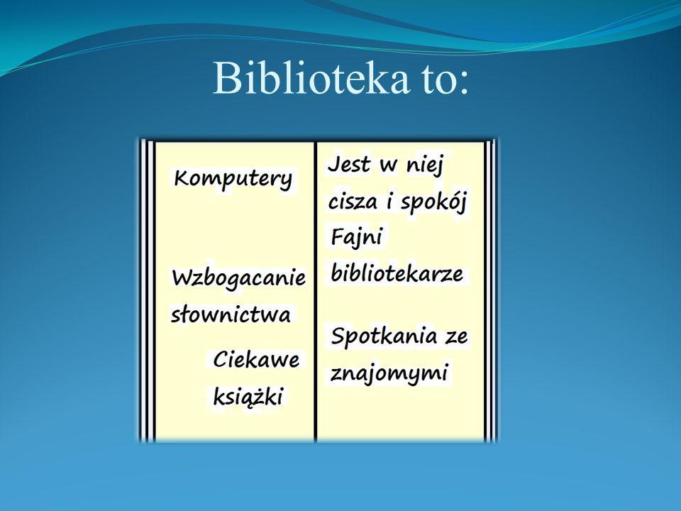 Biblioteka to: