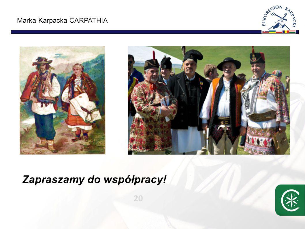 Marka Karpacka CARPATHIA 20 Zapraszamy do współpracy!