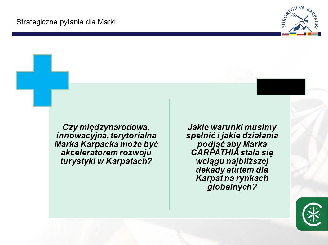 Czy międzynarodowa, innowacyjna, terytorialna Marka Karpacka może być akceleratorem rozwoju turystyki w Karpatach.