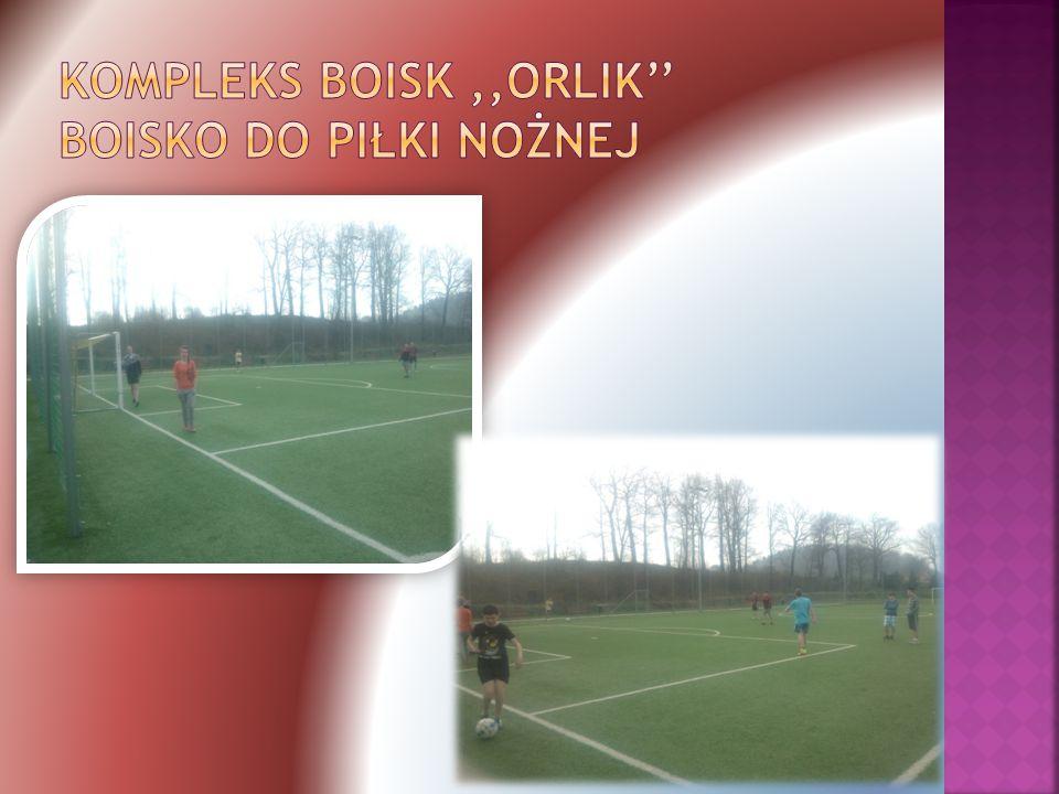  Otwarty w 2012 roku.  Oferuje dostęp do boiska piłki nożnej, oraz boiska wielofunkcyjnego.
