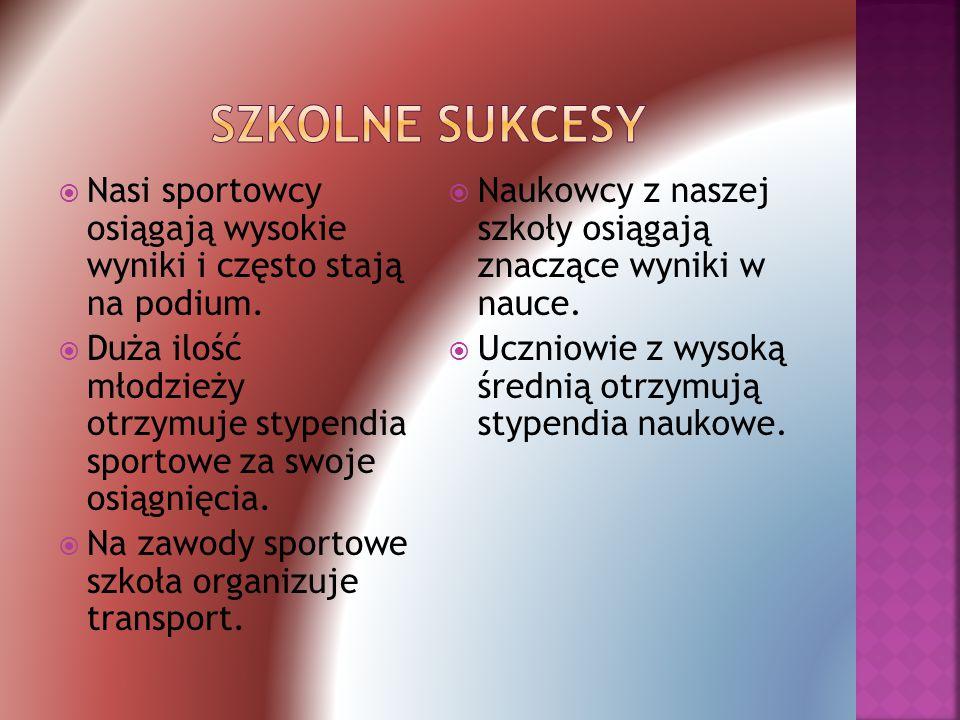  Nasza szkoła oferuje: Koło fotograficzne Koło plastyczne Koło wokalno-instrumentalne Koło turystyczne Koło informatyczne Koło teatralne SKS