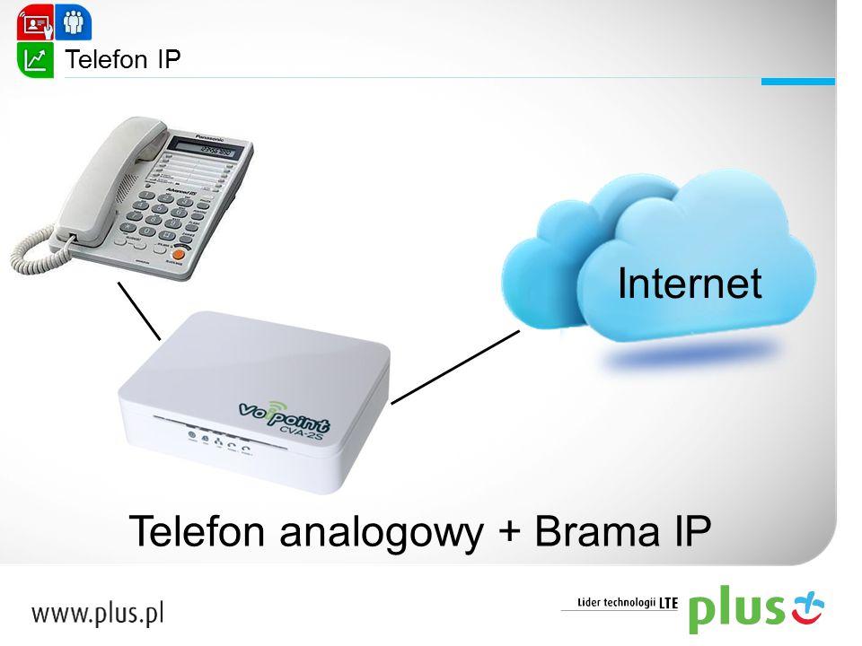 Internet Telefon analogowy + Brama IP Telefon IP