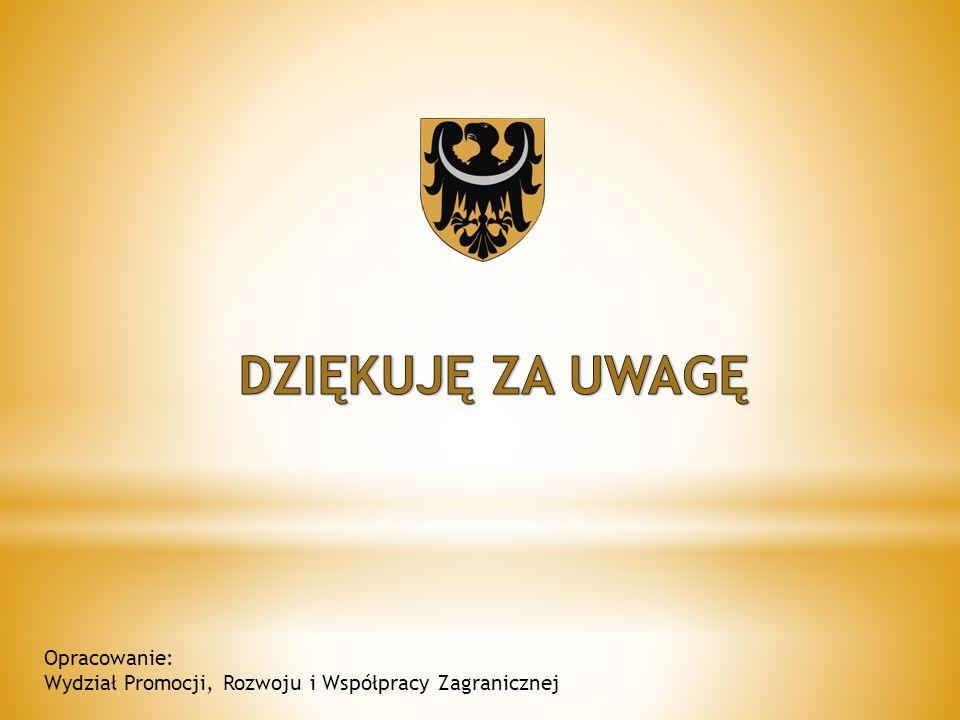Opracowanie: Wydział Promocji, Rozwoju i Współpracy Zagranicznej