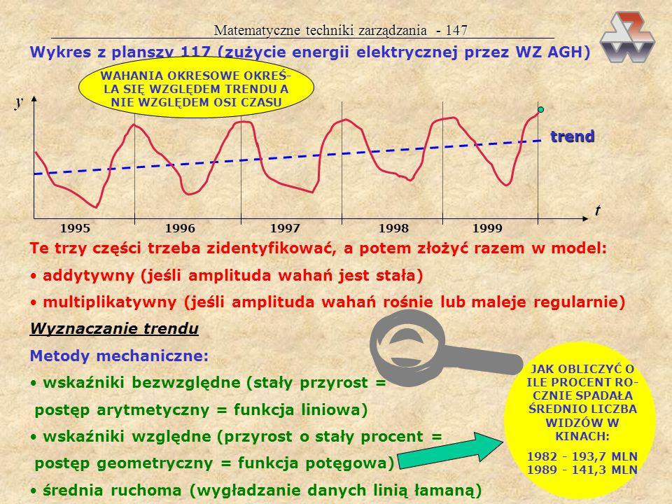 Matematyczne techniki zarządzania - 146 Wszystkie informacje tego typu można odczytać w trakcie interpretacji funkcji produkcji: wartości 45,2 nie int