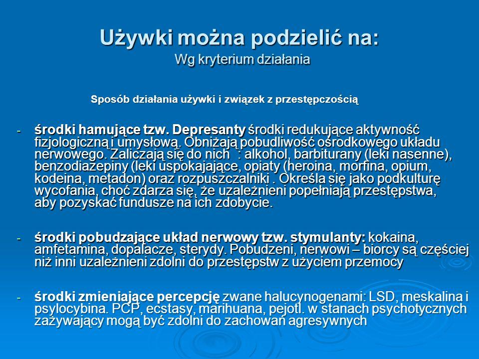 Narkotyk (z greckiego narkotikos – oszałamiający) jest substancją pochodzenia roślinnego, syntetycznego mogąca powodować uspokojenie, euforię, zniesienie bólu, odurzenie, głęboki sen.