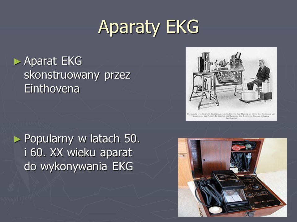 ► Charakterystyka EKG