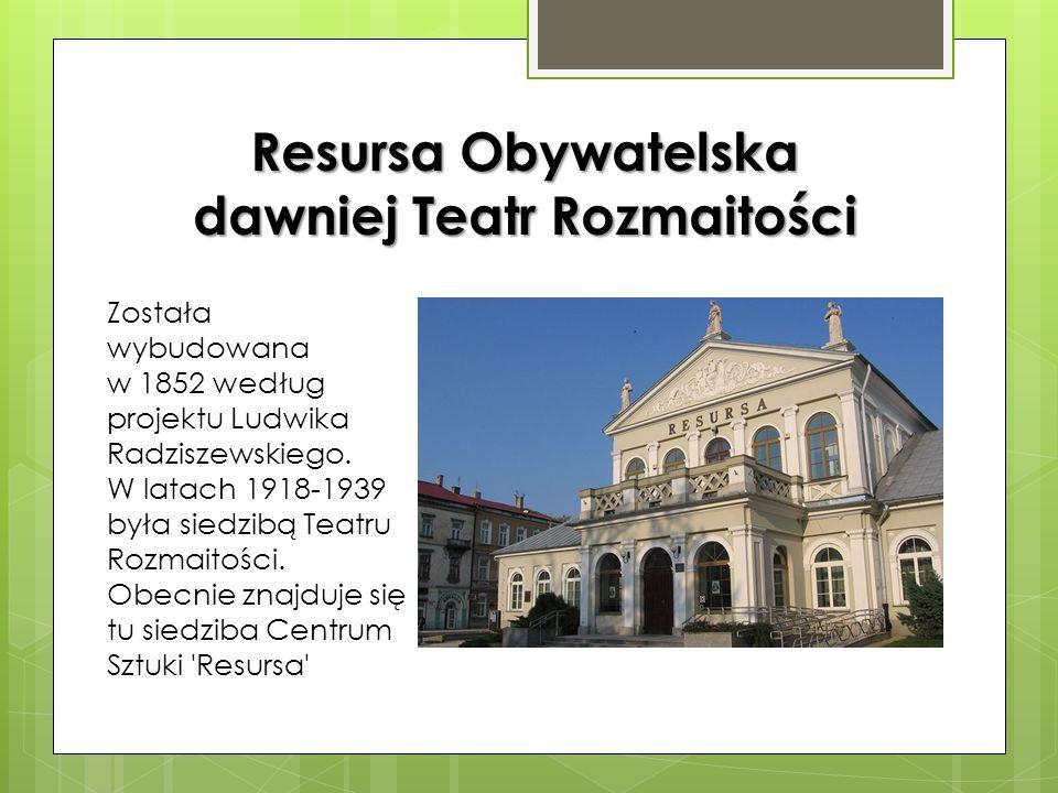 Kościół garnizonowy św. Stanisława św. Stanisława Pierwotnie była to cerkiew pod wezwaniem świętego Mikołaja wybudowana w 1902 roku według projektu Wi