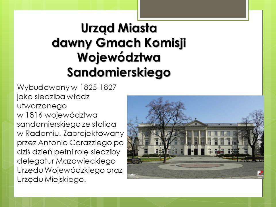 Została wybudowana w 1852 według projektu Ludwika Radziszewskiego. W latach 1918-1939 była siedzibą Teatru Rozmaitości. Obecnie znajduje się tu siedzi